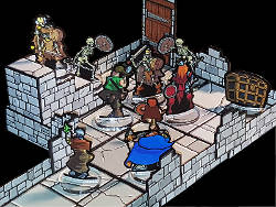 The Dungeons of Olde tile system